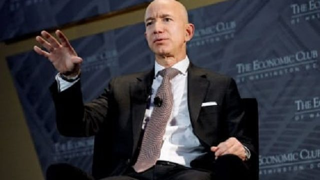 Amazon創設者ジェフ・ベゾスJeffrey Preston Bezos