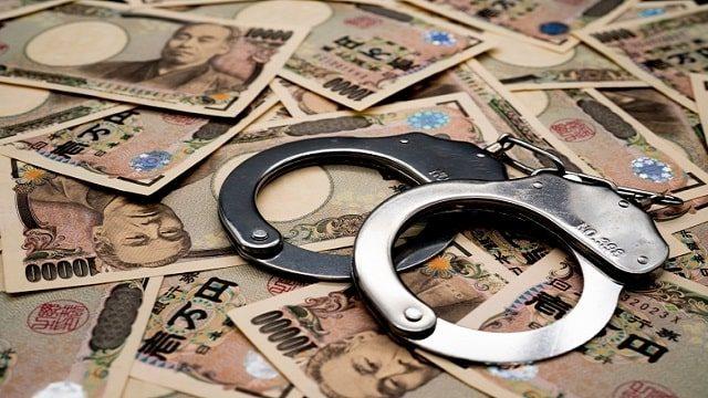 脱税で逮捕